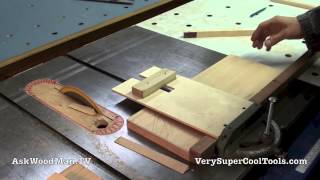 05 How To Build A Bed • Milling The Leg Stock