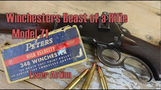 Winchesters Beast Of A Lever Action: The Model 71
