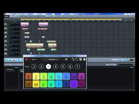 MAGIX Music Maker 2016 - LIVE PADS Techno Astrobat - 2016 SESSION