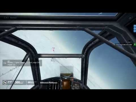 IL-2 BoS : Vertical lead turn on merge