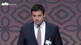 Vierte Sitzung | Grußworte Mitglied des kroatischen Parlaments | #JalsaGermany 2016