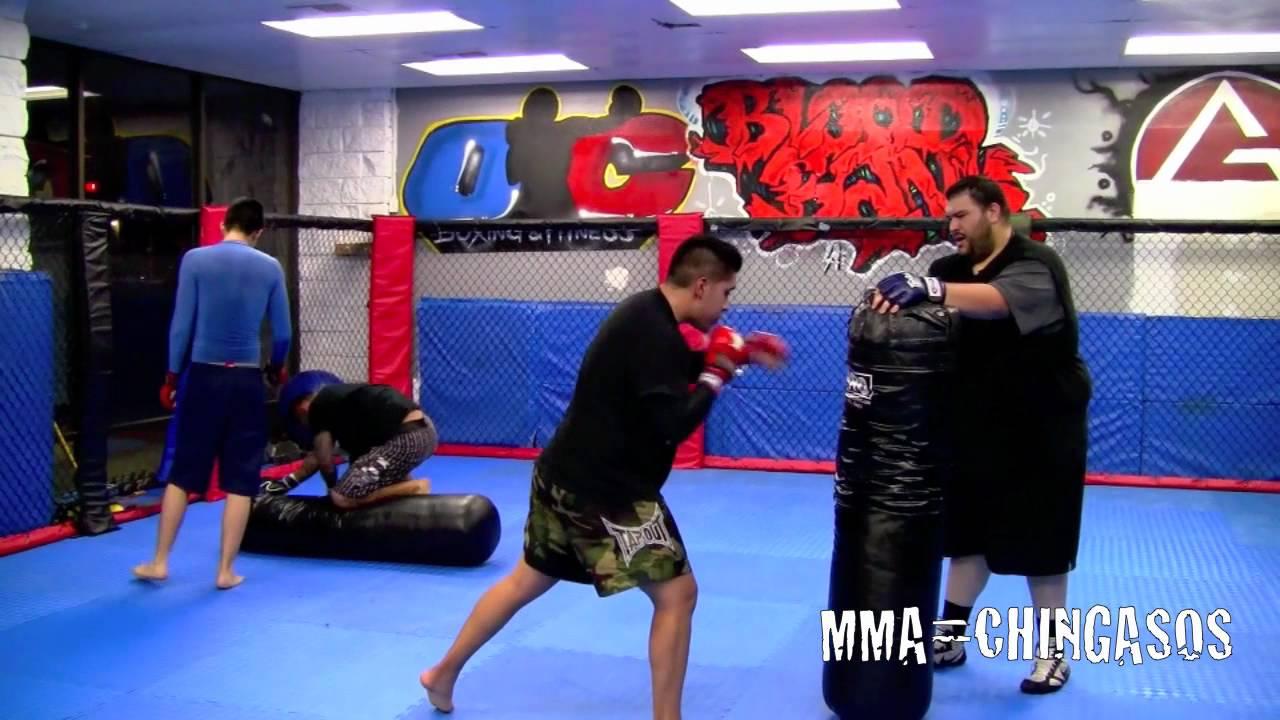 MMA Training at BloodBank Gym Hacienda Heights California