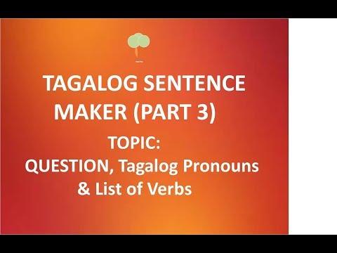 HowToMakeATagalogSentence Tagalog Sentence Maker 3 - YouTube