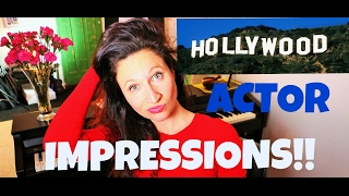 ACTOR IMPRESSIONS, KEVIN SPACEY, JACK NICHOLSON Etc