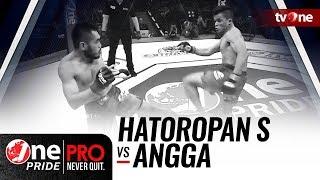 [Full HD] Hatoropan Simbolon vs Angga - One Pride MMA - Lightweight