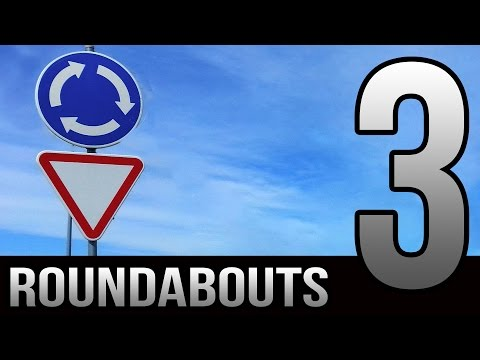 3 Tips for New Drivers - Roundabouts