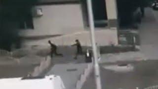 Publican cómo la Policía abate al atacante de Surgut aparece en las redes