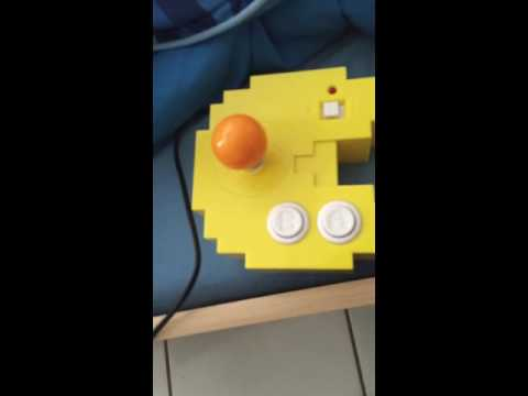How To Connect The Pac Man Console To A Small Tv