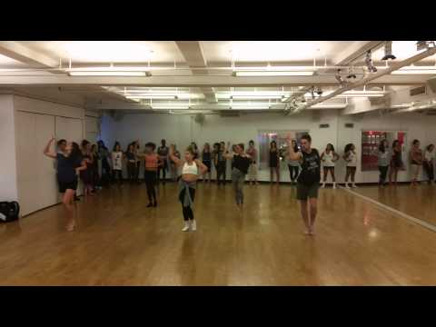 Debbie Wilson - BO$$ -  Commercial Jazz Class at Broadway Dance Center in NYC