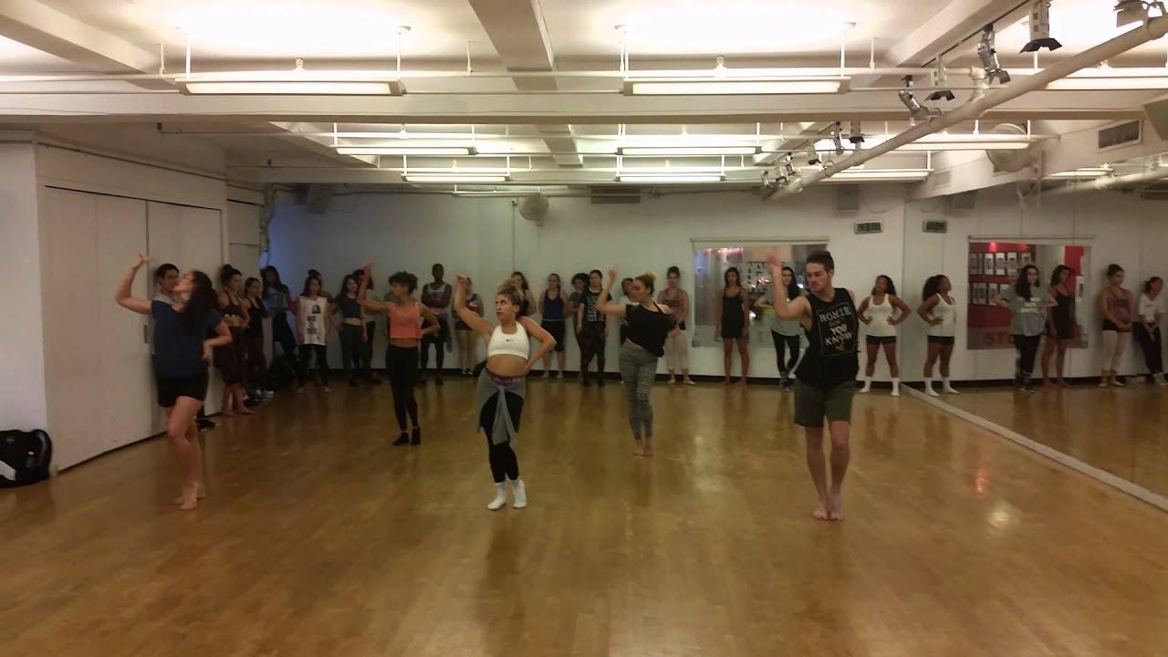 debbie wilson - bo$$ - commercial jazz class at broadway dance