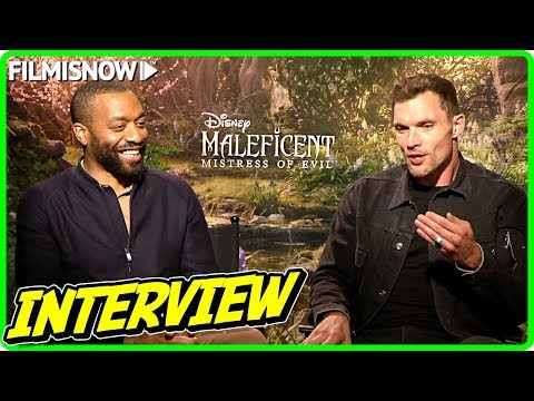 MALEFICENT: MISTRESS OF EVIL | Chiwetel Ejiofor And Ed Skrein Talk About The Movie
