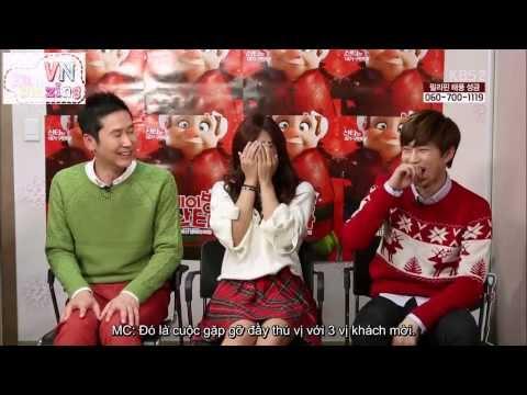[Vietsub] [EunmazingVN] 131116 Eunji (APink), Suho (EXO), Shin Dongyeop @ Saving Santa (Interview)