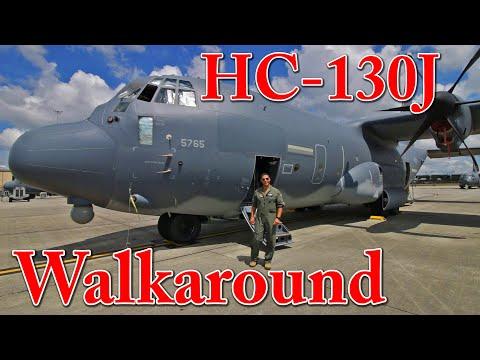 HC-130J Walkaround Combat