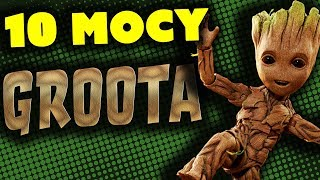 10 MOCY GROOTA - Komiksowe Ciekawostki