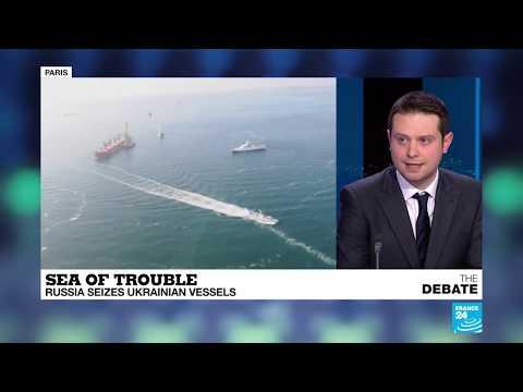 Sea of trouble: Russia seizes Ukrainian vessels