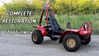 Complete 1979 Honda Odyssey Restoration in 10 Minutes | 2 Stroke FL250 Rebuild