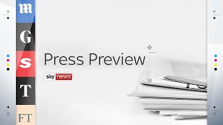 Press Preview: A first look inside Wednesday's newspapers