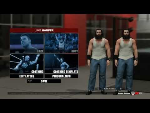 WWE 2K15 как создать альтернативную аттирку?
