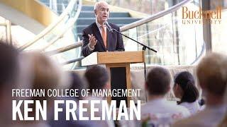 Freeman College of Management: Ken Freeman