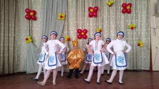 Танец 'Самовар пых-пых'