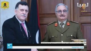إحياء الذكرى السادسة للثورة الليبية تزامن مع توقيع اتفاق بين حفتر والسراج