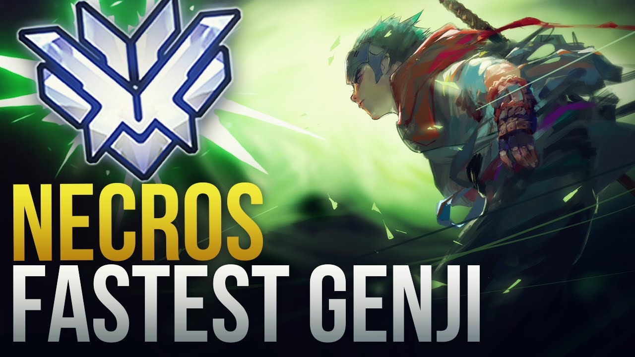 Download NECROS IS THE FASTEST GENJI  - Overwatch Montage