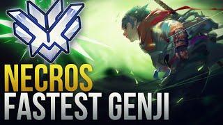 NECROS IS THE FASTEST GENJI  - Overwatch Montage