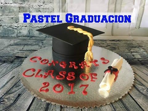 Como Hacer Sombrero De Graduación Pastel Paso A Paso Y Facil Youtube