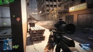 Battlefield 3 Online Overclocked NVIDIA GTX 765m EVGA Precision X - TEST Vsync OFF