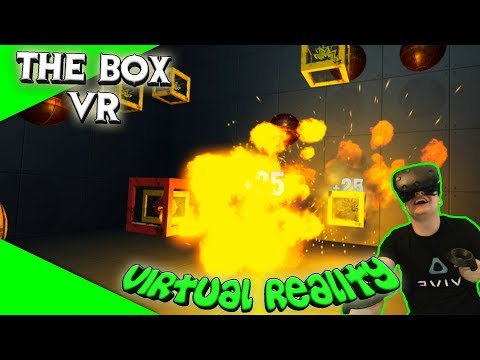 THE BOX VR  Hab ihr Lust auf totalen Stress? Let's PlayGameplayGermanViveVirtual Reality