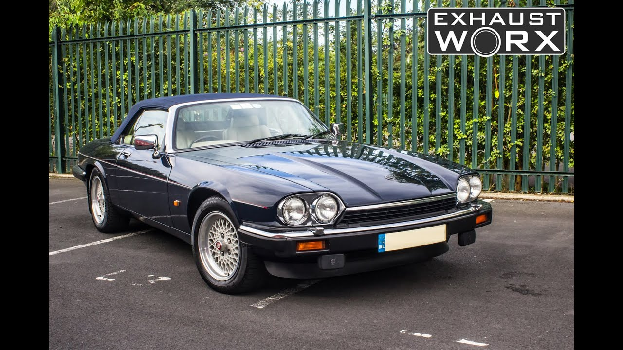 jaguar xjs v12 custom exhaust work to reduce noise levels youtube. Black Bedroom Furniture Sets. Home Design Ideas