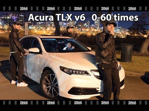 Acura TLX V6 0-60 mph time, 2016 Acura TLX V6 AWD 0-60 times