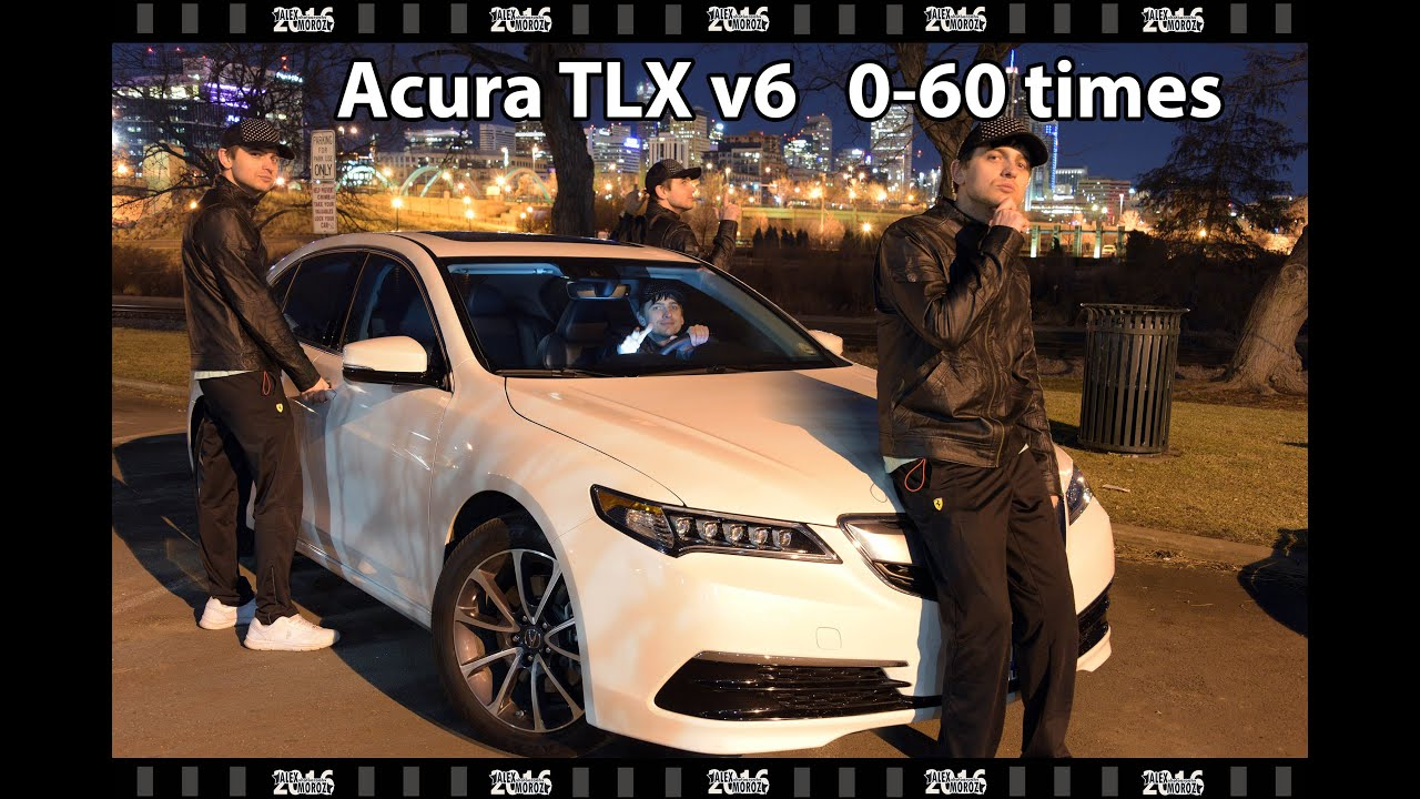 Acura Tlx Mph Time Acura Tlx Awd Times Youtube