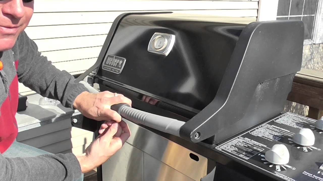 How To Install A Weber Grill Out Handle Light 7516 Youtube