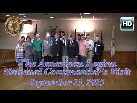 American Legion National Commander's Visit 9/13/15