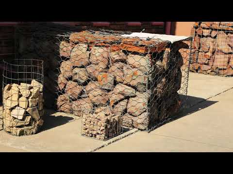Constructing with gabions