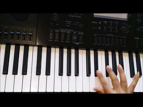 Pardesi Pardesi Jana Nahi - Piano Tutorial (Harmonium) - Raja Hindustani