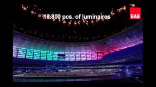 EAE Bakü Olimpiyat Stadı FASAT Aydınlatması V2