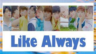 [THAISUB] X1 - Like Always #เล่นสีซับ