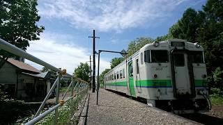 JR札沼線⑥ 月ヶ岡→知来乙 右側車窓