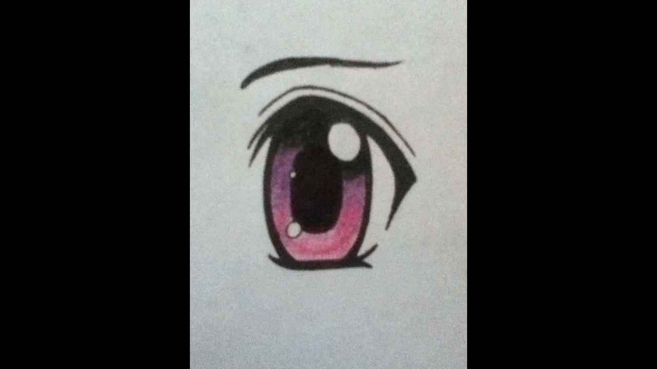 How To Draw A Cute Chibi Eye Youtube