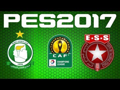 PES 2017 - CAF Champions League - Quarter-final - AL AHLI TRIPOLI vs ETOILE SAHEL