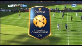 Everton vs real madrid 3rd august 2013 1st half
