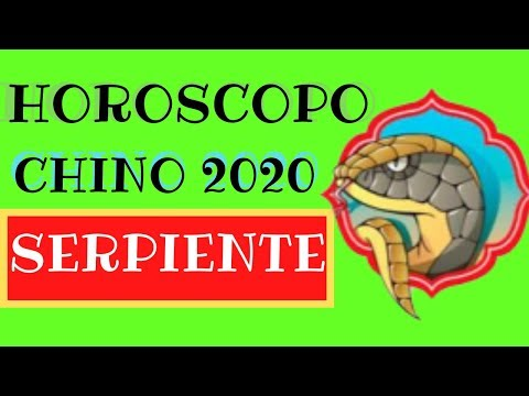 Horoscopo Chino 2020 Serpiente