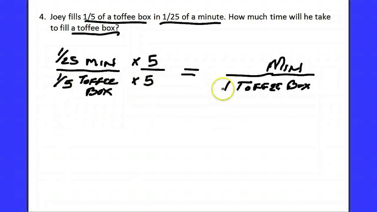 Explanation of Matching Unit Rate Worksheet YouTube – Unit Rate Worksheet