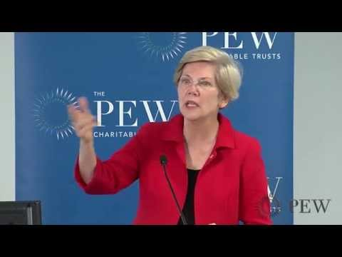 Senator Elizabeth Warren (MA) Discusses Proposal for Financial Services at the Post Office | Pew