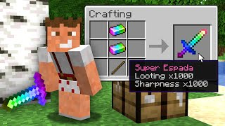 Paso Minecraft pero Cada Item es Super