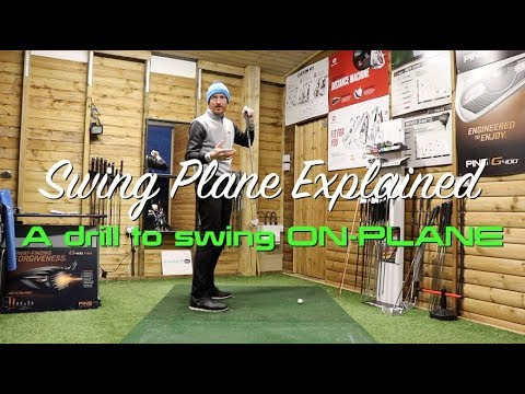 GOLFERS this is swing plane