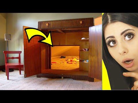 MIND BLOWING Hidden Rooms and Secret Furniture !