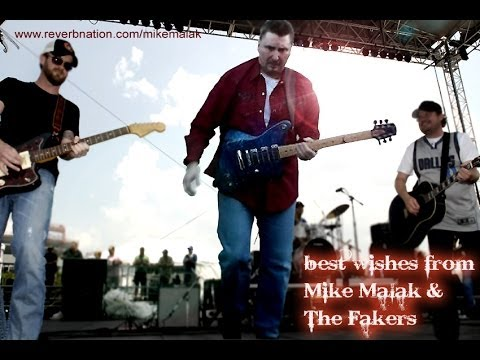 Mike Malak & The Fakers  - Beer In Mexico (Ken Chesney, cover, lyrics)